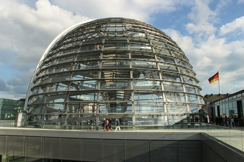 Germany Berlin Capital Bundestag Reichstag